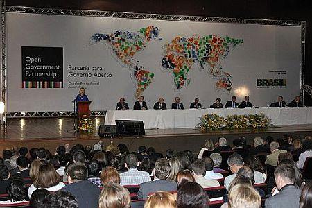 Откриване на срещата на OGP в Бразилия