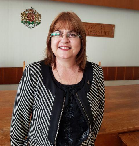 Христалина Халачева, секретар на Община Търговище