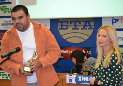 Илиан Илиев от ОЦОСУР с наградата