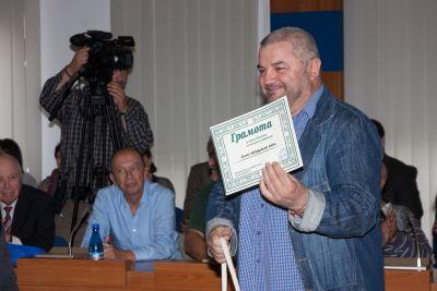 Данчо Заверджиев с наградата
